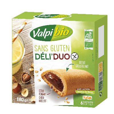 BISCUIT DELIDUO CACAO NOI 180G