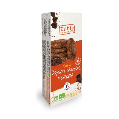COOKIES PEPITE CHOC/CACAO 175G