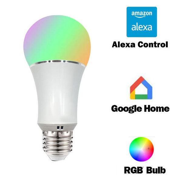 Smart Bulb - Compatible With Google Home and Alexa Echo