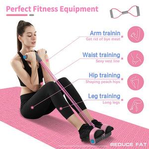 Elastic Sit-Up Pull Rope Exercise Equipment for Bodybuilding