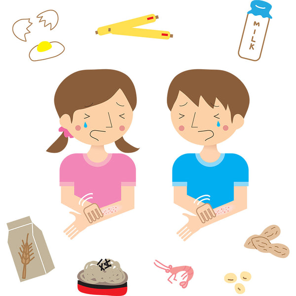 Dietary factors that may affect eczema