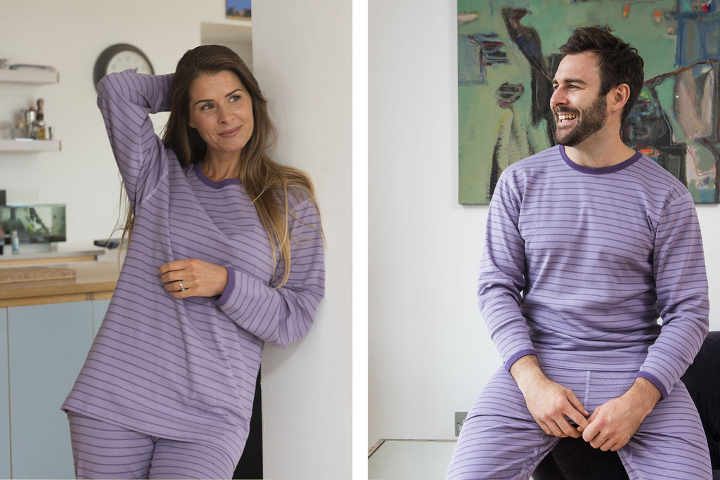 Pure Organic Cotton Tulip Pyjamas
