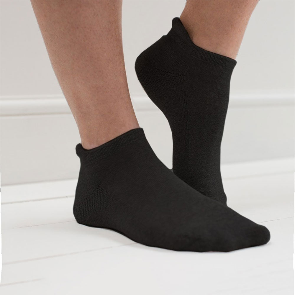 98% Organic Cotton Trainer Socks  from Pure Cotton Comfort