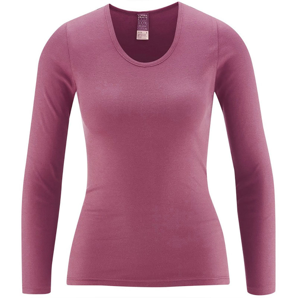 Rose Long Sleeve Top from Pure Cotton Comfort