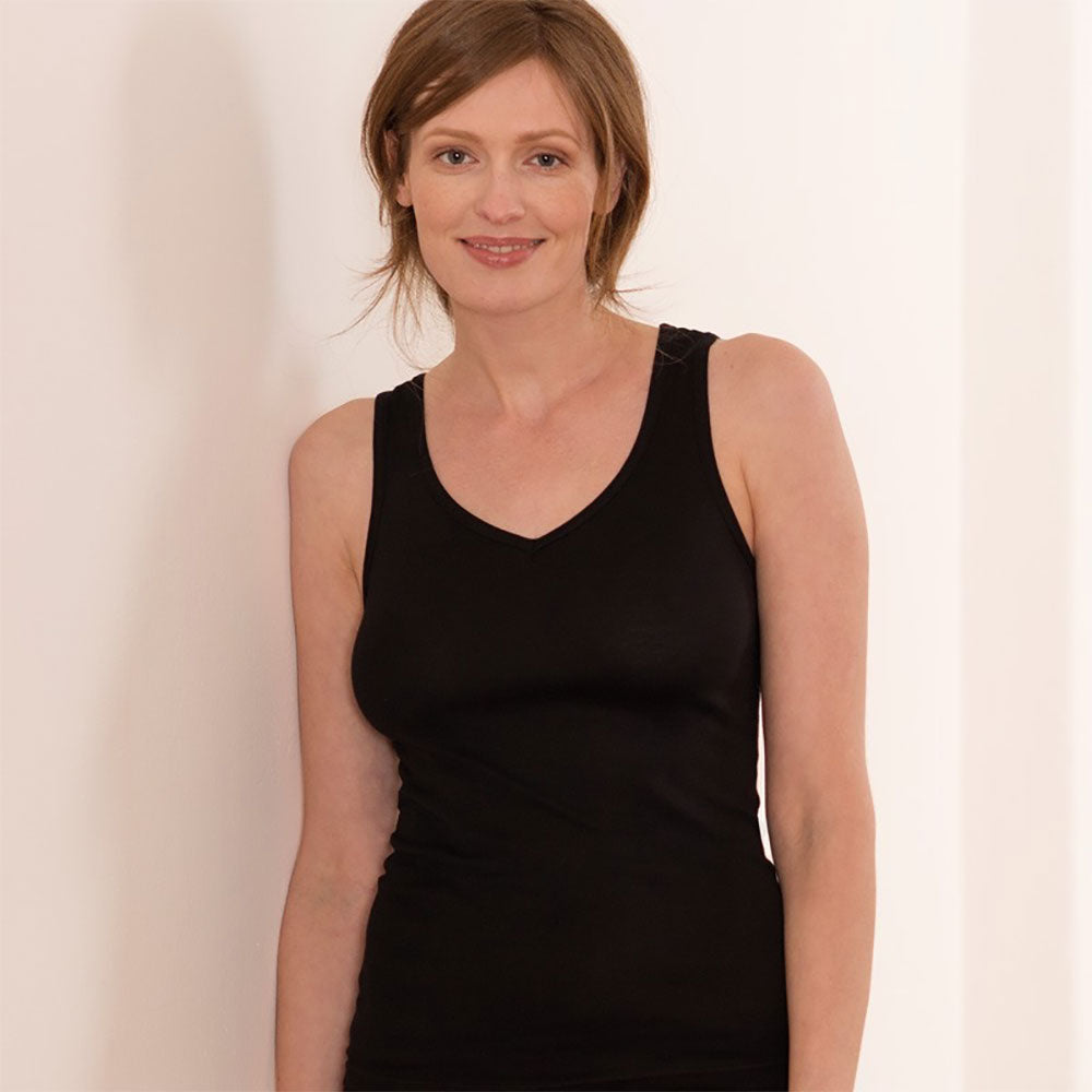 V Neck Vest from Pure Cotton Comfort