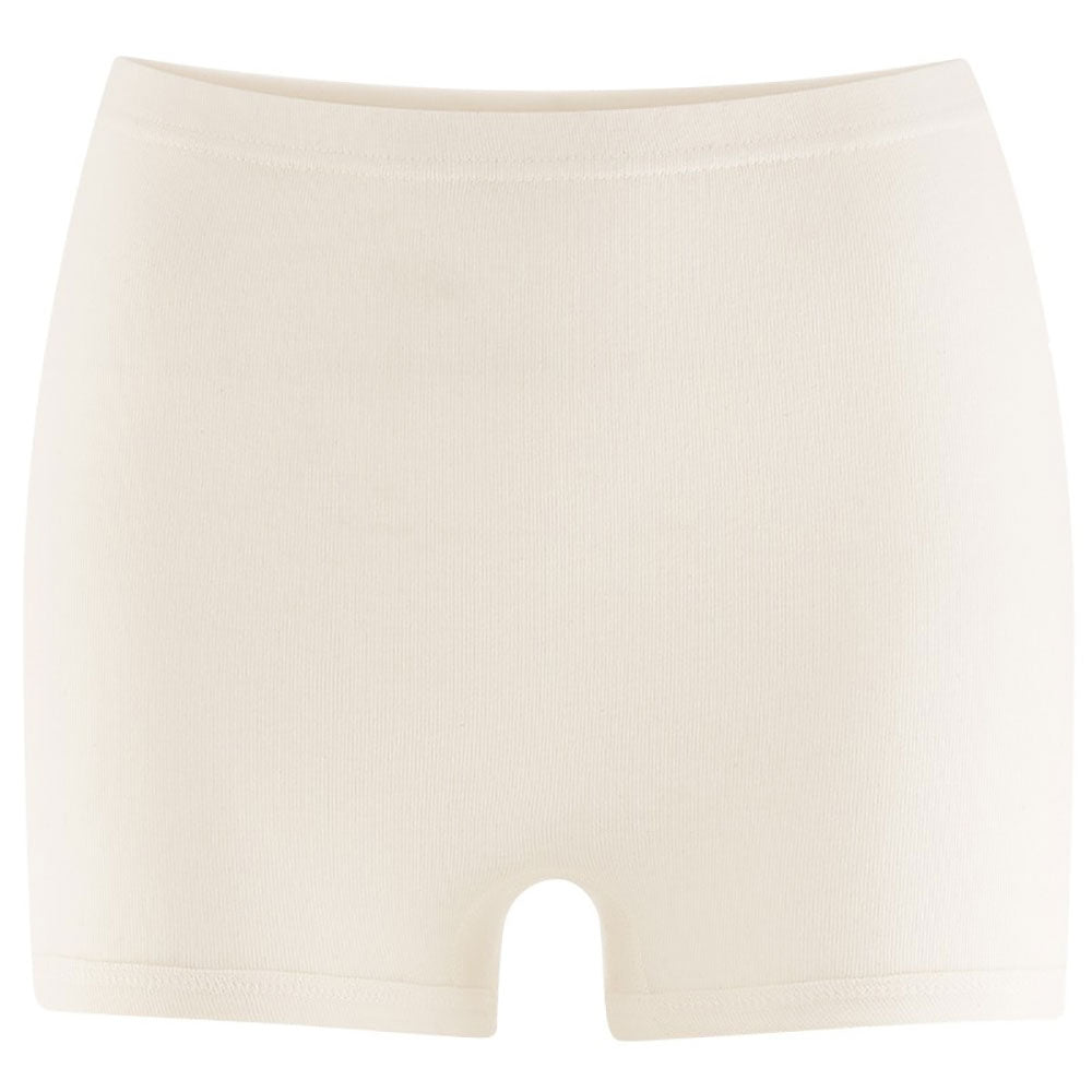 White Square Cut Pants from Pure Cotton Comfort