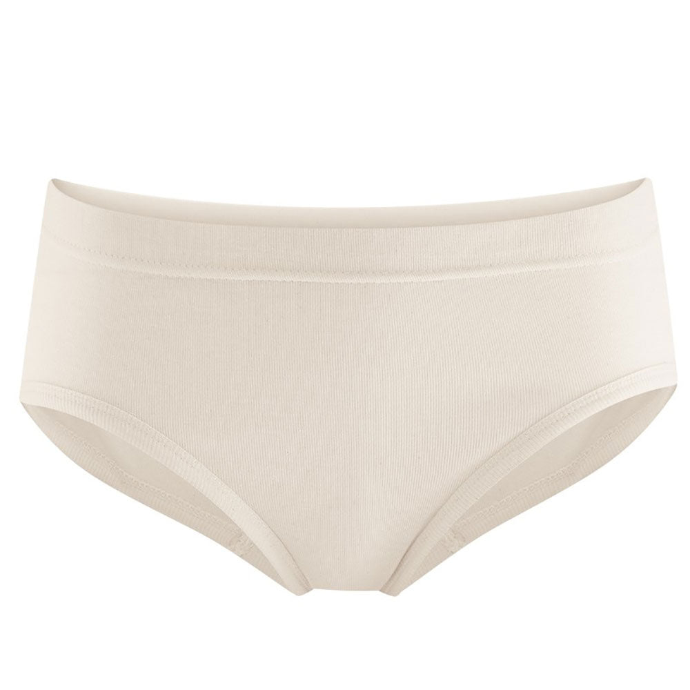 White High Leg Briefs from Pure Cotton Comfort