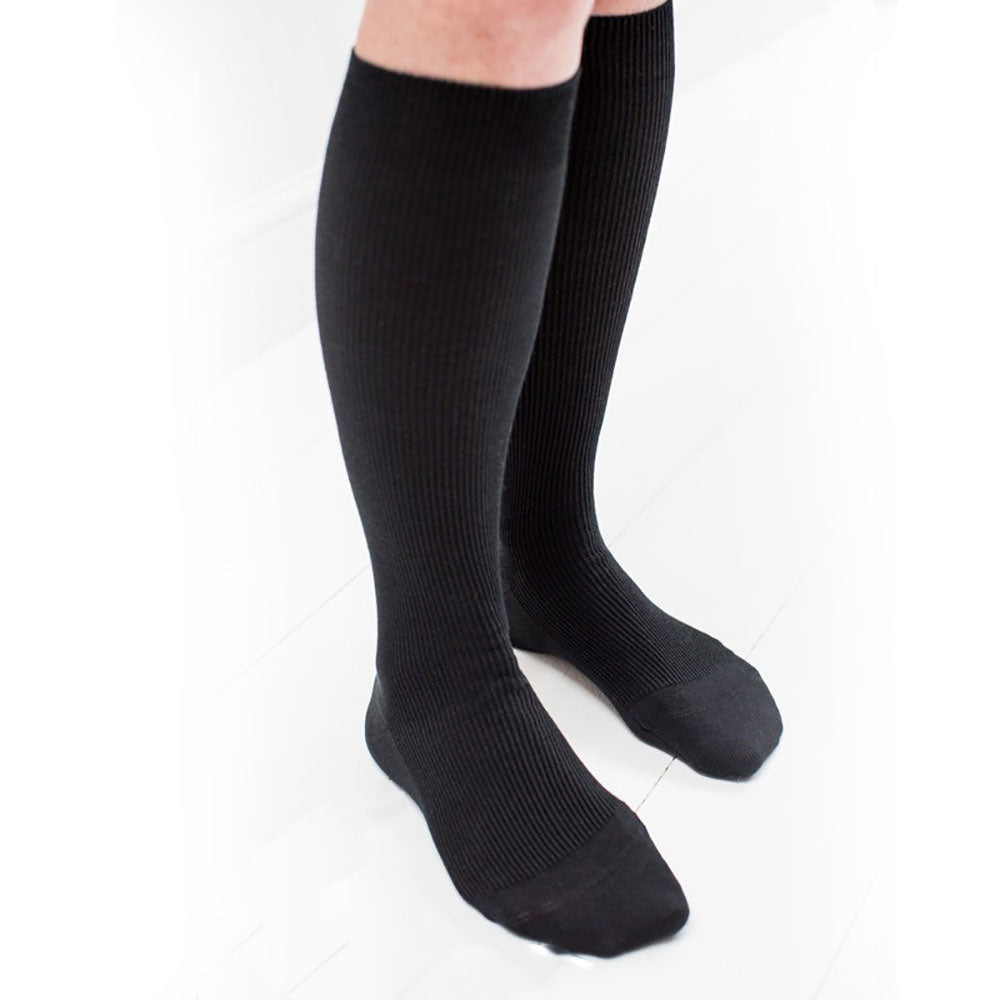 100% Organic Cotton Adult Knee Socks from Pure Cotton Comfort