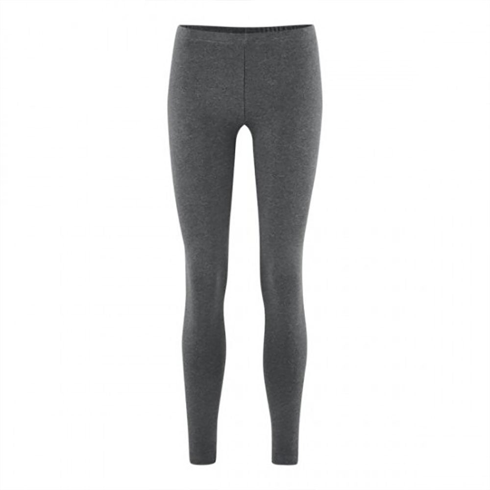 Grey 94% Organic Cotton / 6% Elastane Leggings from Pure Cotton Comfort
