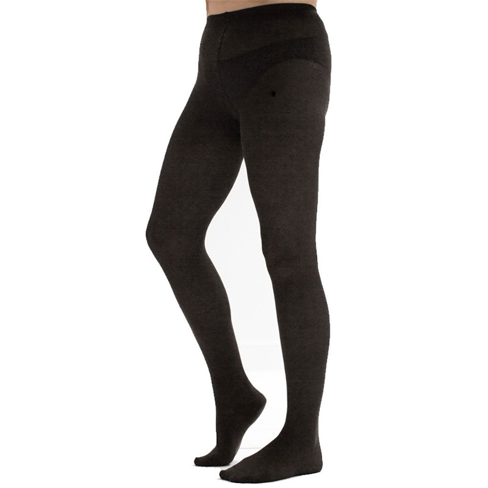 98% Organic Cotton Opaque Plain Tights from Pure Cotton Comfort