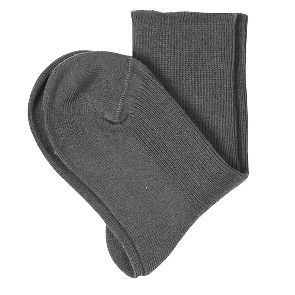 100% Organic Cotton Grey Ankle Socks for Children from Pure Cotton Comfort