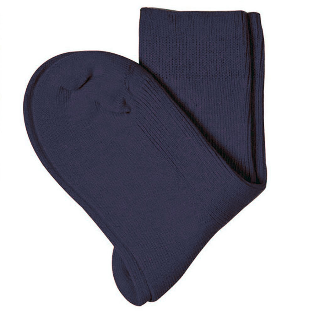 100% Organic Cotton Navy Ankle Socks for Children from Pure Cotton Comfort