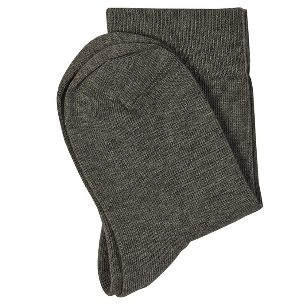 Grey 98% Organic Cotton  Child's Ankle Socks from Pure Cotton Comfort