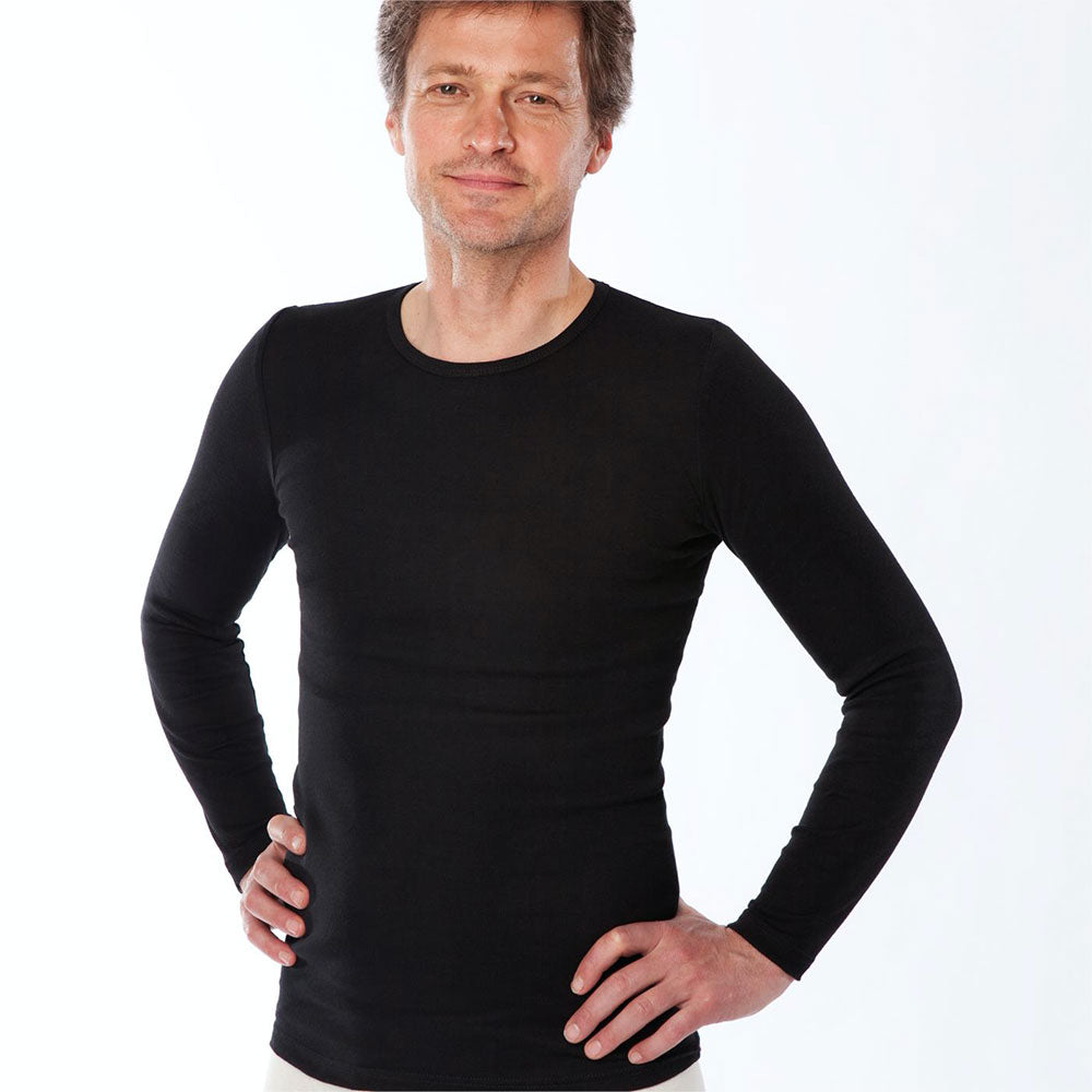 100% Organic Cotton Long Sleeve Top from Pure Cotton Comfort