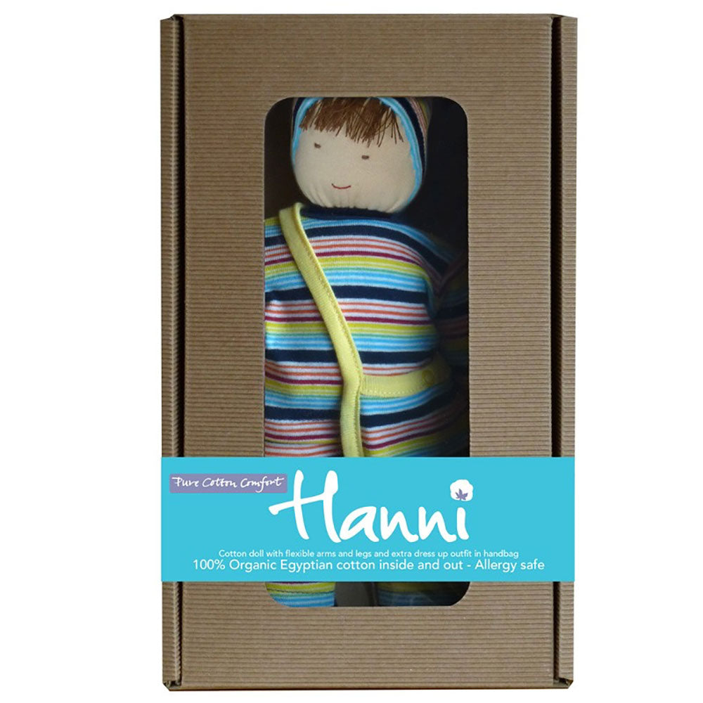 Navy Hanni Organic Doll  from Pure Cotton Comfort