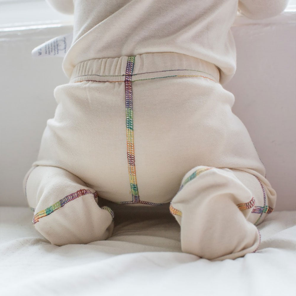 Eczema Ankle Protect PJ Bottoms Eco-Organic from Pure Cotton Comfort