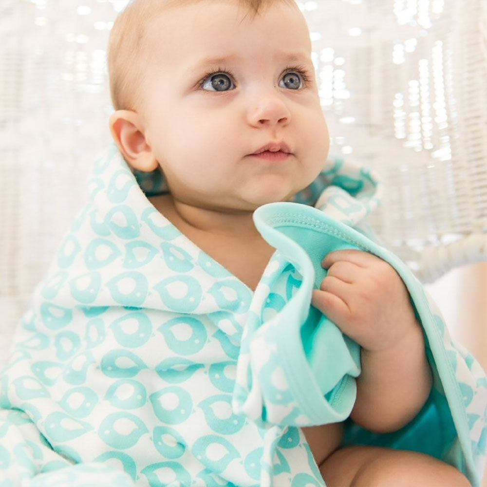 Baby Blanket 100% Organic Cotton from Pure Cotton Comfort
