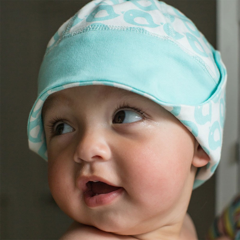 100% Organic Cotton Baby Hat from Pure Cotton Comfort