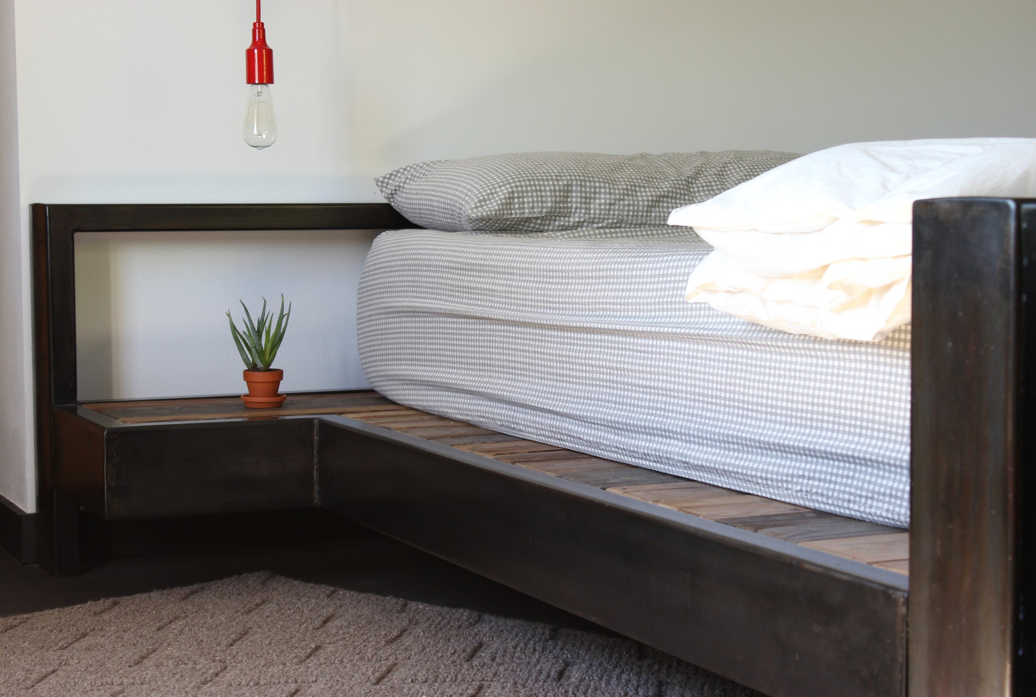 Industrial Modern Queen Bed