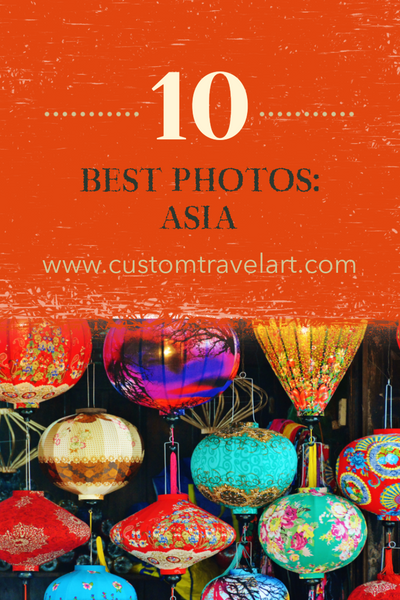Best of the Best - Top Ten Travel Photos From Each Continent: Asia