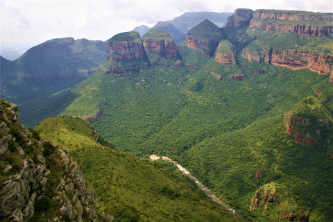 Three Rondevals Blyde River Canyon, South Africa