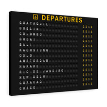 Load image into Gallery viewer, Custom Departure Board For Travelers