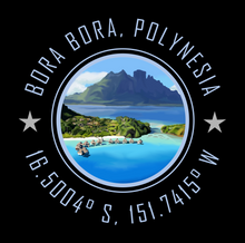 Load image into Gallery viewer, Bora Bora French Polynesia Bucket List Destination