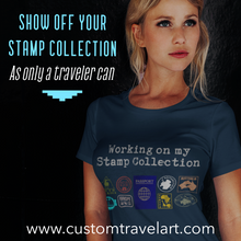 "Load image into Gallery viewer, Passport ""Stamp Collection"" Tee"