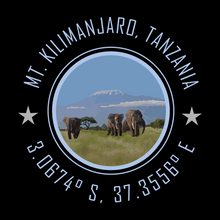 Load image into Gallery viewer, Mt. Kilimanjaro Tanzania Bucket List Destination