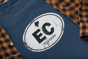 Ecuador Rugged Country Code Softstyle T-Shirt