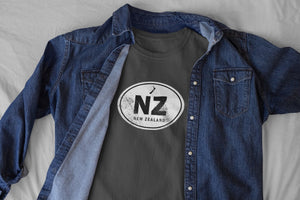 New Zealand Rugged Country Code Softstyle T-Shirt