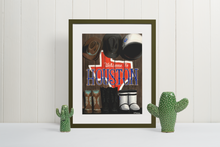 Load image into Gallery viewer, Houston poster print