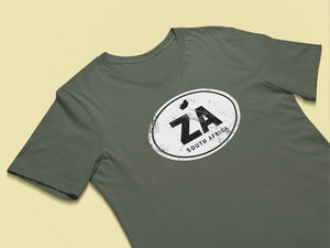 South Africa Rugged Country Code Softstyle T-Shirt