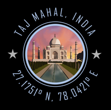 Load image into Gallery viewer, Taj Mahal India Bucket List Destination