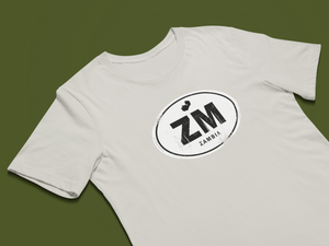 Zambia Rugged Country Code Unisex Softstyle T-Shirt