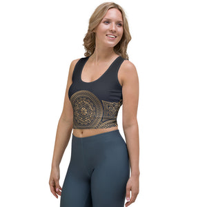 Ornamental Mandala3™ Crop Top