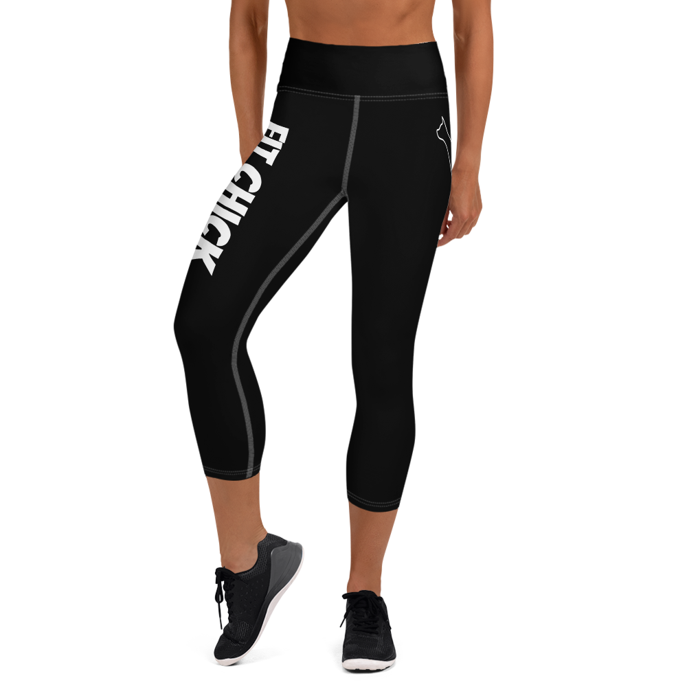 Yoga Capri Leggings Fit Chick