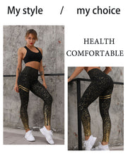 Load image into Gallery viewer, Golden yoga leggings 2020