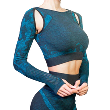Load image into Gallery viewer, Yoga Set Suit  Long-sleeved