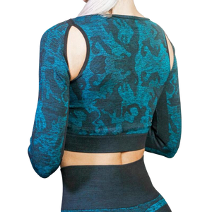 Yoga Set Suit  Long-sleeved
