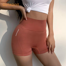 Load image into Gallery viewer, GUTASHYE High waistshorts fitness yoga