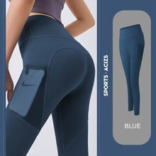 Load image into Gallery viewer, Yoga Pants Women Pocket
