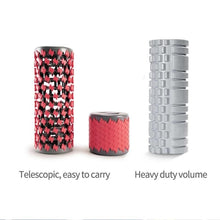 Load image into Gallery viewer, TelescoMass™: Retractable Muscle Massage Roller telescopic