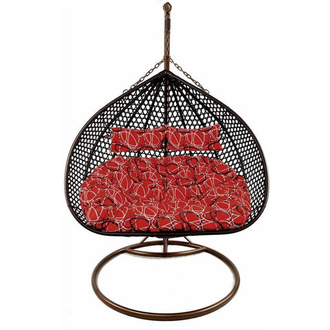 Double Hanging Egg Chair