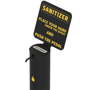 Sanitizing Stand 3.5L Capacity