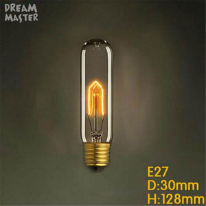 220V 240V T10 T185 T225 T300 Vintage Edison Bulb E27 Retro Incandescent Light bulbs