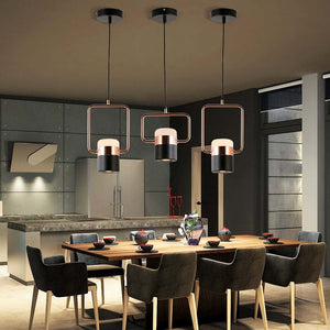 Galla - Modern Minimalist Framed Pendant Light