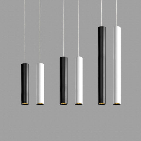 Dimmable LED Pendant Lamp Long Tube