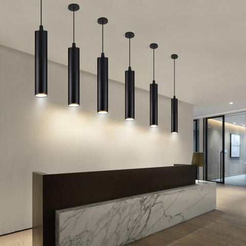 Image of Dimmable LED Pendant Lamp Long Tube