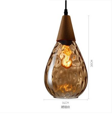 Image of Sergia - Modern Nordic Drop Glass Pendant Lamp